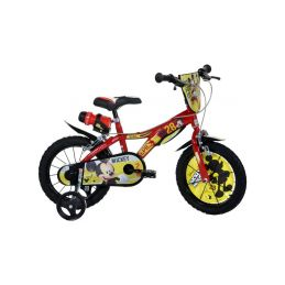 """DINO Bikes - Dětské kolo 14"""" Mickey Mouse - 1"""