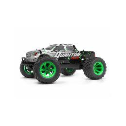 Quantum MT Flux 80A 1/10 4WD Monster Truck - Stříbrný - 1
