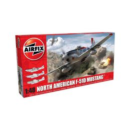 Airfix North American F-51D Mustang (1:48) - 1