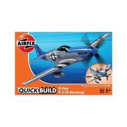 Airfix Quick Build - North American P-51D Mustang D-Day - 1