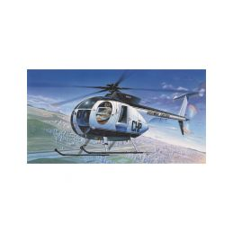 Academy Hughes 500D Police Helicopter (1:48) - 1