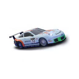 SCX Compact Porsche 911 GT3 Gulf se světly - 1