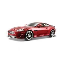 Bburago Plus Jaguar XKR-S 1:24 červená - 1