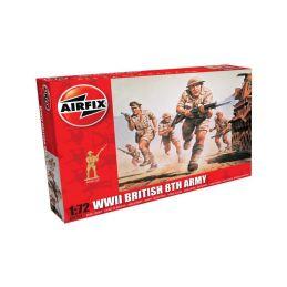 Airfix figurky - WWII britská 8. armáda (1:72) - 1