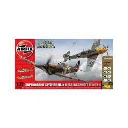 Airfix Supermarine Spitfire Mk1a, Messerschmitt BF109E-4 (1:72) - 1