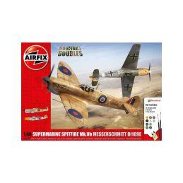 Airfix Supermarine Spitfire MkVb, Messerschmitt BF109E (1:48) - 1