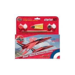 Airfix Red Arrows Gnat (1:72) (set) - 1