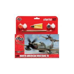 Airfix North American P-51D Mustang (1:72) (set) - 1