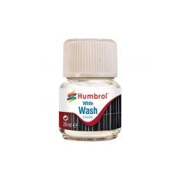 Humbrol barva Enamel AV0202 Wash bílá 28ml - 1