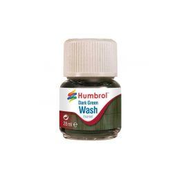 Humbrol barva Enamel AV0203 Wash tmavě zelená 28ml - 1