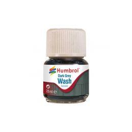 Humbrol barva Enamel AV0204 Wash tmavě šedá 28ml - 1