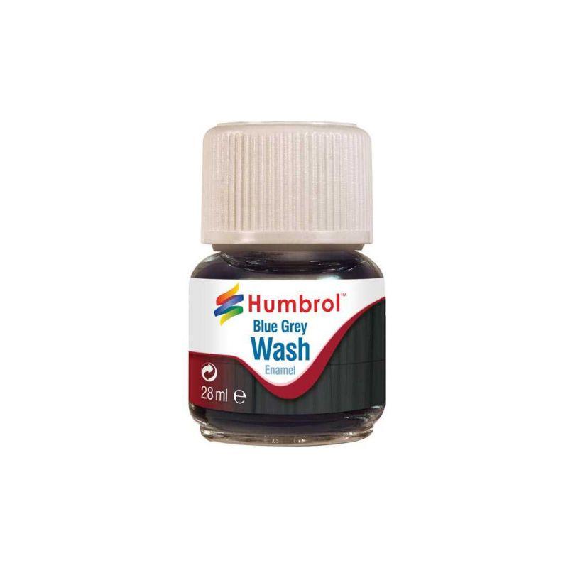 Humbrol barva Enamel AV0206 Wash modro šedá 28ml - 1