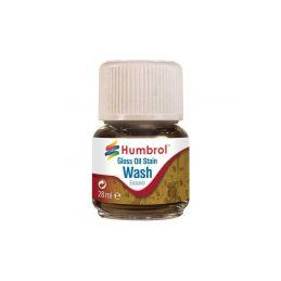 Humbrol barva Enamel AV0209 Wash olejová skvrna 28ml - 1