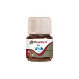 Humbrol barva Enamel AV0210 Wash rezavá 28ml - 1