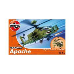 Airfix Quick Build vrtulník Boeing Apache - 1