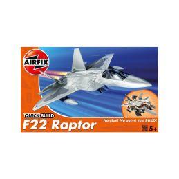 Airfix Quick Build Lockheed Martin Raptor - 1
