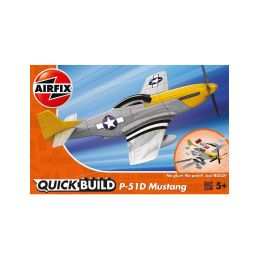Airfix Quick Build P-51D Mustang - 1