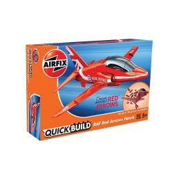 Airfix Quick Build RAF Red Arrows Hawk - 1