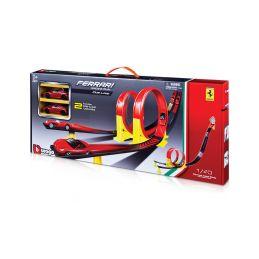 Bburago Ferrari závodní dráha se 2 lopingy - 1
