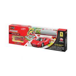Bburago Ferrari hrací podložka s autem - 1