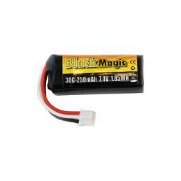 Black Magic LiPol 7.4V 250mAh 30C JST-PH - 1