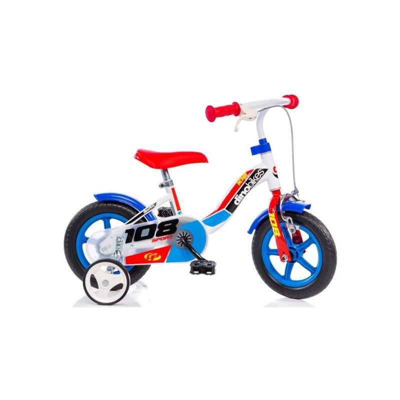 """DINO Bikes - Dětské kolo 10"""" Boy s brzdou - 1"""