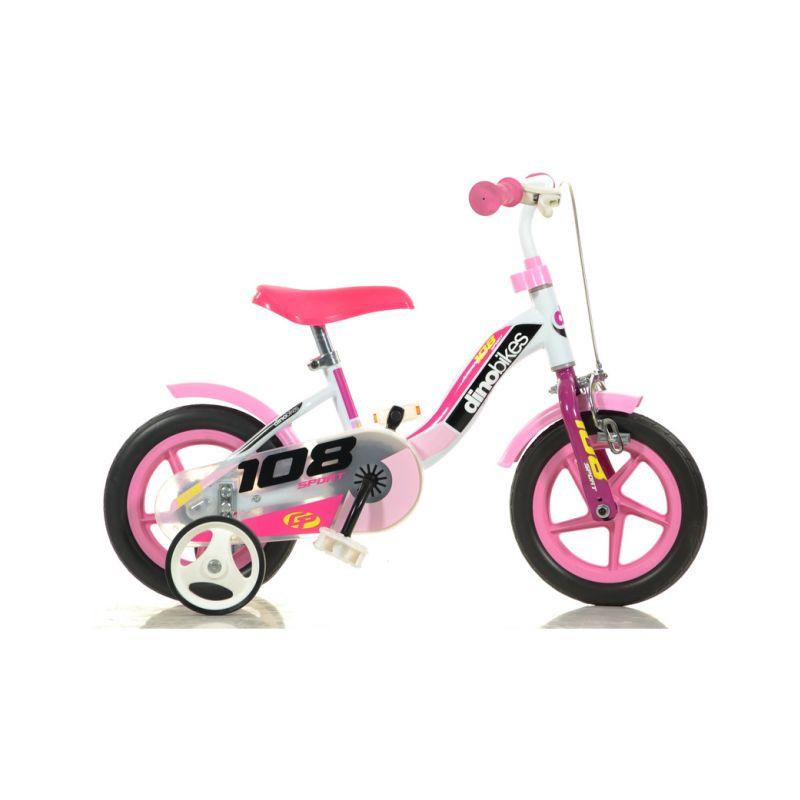 """DINO Bikes - Dětské kolo 10"""" Girl s brzdou - 1"""
