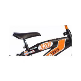 """DINO Bikes - Dětské kolo 12"""" BMX černé - 3"""