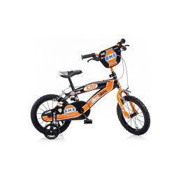 """DINO Bikes - Dětské kolo 14"""" BMX černé - 1"""