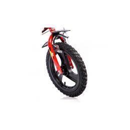 """DINO Bikes - Dětské kolo 16"""" červené - 3"""