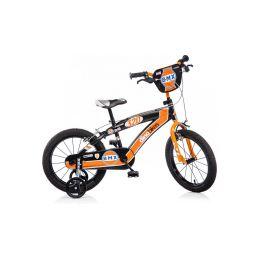 """DINO Bikes - Dětské kolo 16"""" BMX černé - 1"""