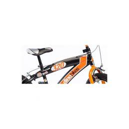 """DINO Bikes - Dětské kolo 16"""" BMX černé - 3"""