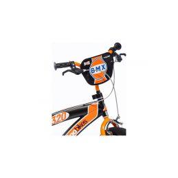 """DINO Bikes - Dětské kolo 16"""" BMX černé - 4"""