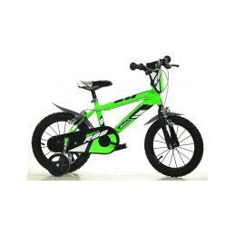 """DINO Bikes - Dětské kolo 14"""" zelené - 2"""