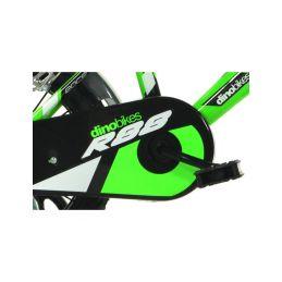 """DINO Bikes - Dětské kolo 16"""" zelené - 3"""
