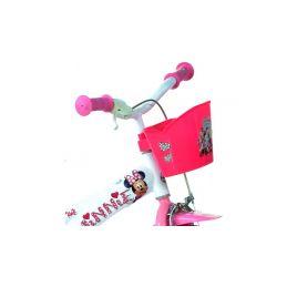 "DINO Bikes - Dětské kolo 12"" Minnie se sedačkou pro panenku a košíkem - 3"