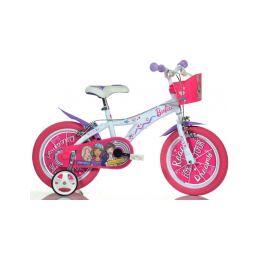 """DINO Bikes - Dětské kolo 14"""" Barbie s košíkem - 2"""
