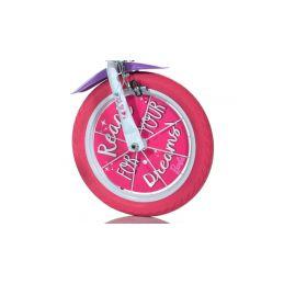 """DINO Bikes - Dětské kolo 14"""" Barbie s košíkem - 4"""