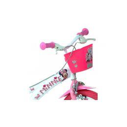 "DINO Bikes - Dětské kolo 14"" Minnie se sedačkou pro panenku a košíkem - 3"
