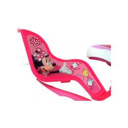 "DINO Bikes - Dětské kolo 14"" Minnie se sedačkou pro panenku a košíkem - 4"