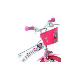 "DINO Bikes - Dětské kolo 16"" Minnie se sedačkou pro panenku a košíkem - 3"