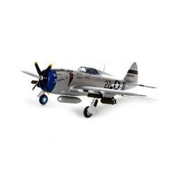E-flite P-47 Razorback 1.2m SAFE Select BNF Basic - 1