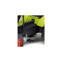 FALK - Šlapací traktor Claas Arion 430 s nakladačem a vlečkou - 2