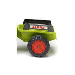 FALK - Šlapací traktor Claas Arion 430 s nakladačem a vlečkou - 4