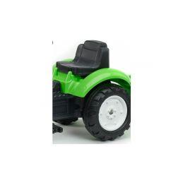 FALK - Šlapací traktor Garden master zelený s vlečkou - 3