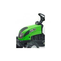 FALK - Šlapací traktor Garden master zelený s vlečkou - 4