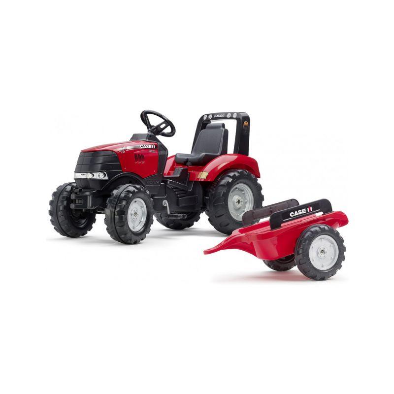 FALK - Šlapací traktor Case IH Puma 240CVX s vlečkou - 1
