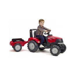 FALK - Šlapací traktor Case IH Puma 240CVX s vlečkou - 2