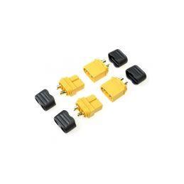 Konektor zlacený XT-60 s krytem (2 páry) - 1