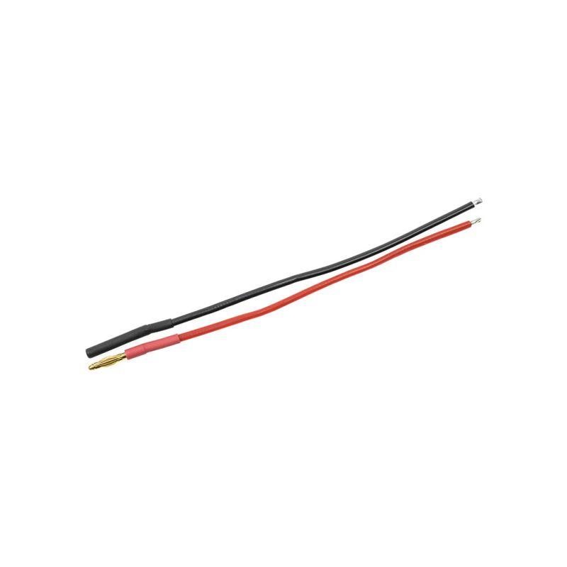 Konektor zlacený 2.0mm s kabelem 20AWG 10cm (1 pár) - 1